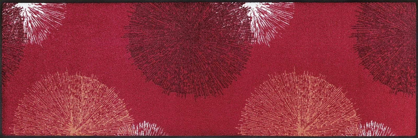 Коврик для дома wash+dry Firework red 60x180